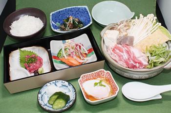 日替ちゃんこ鍋定食[ 小結 ]